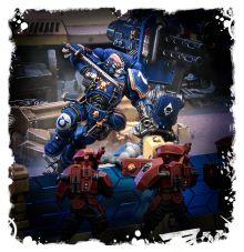 Games Workshop Warhammer 40K Space Marines Primaris Lieutenant in Phobos Armour