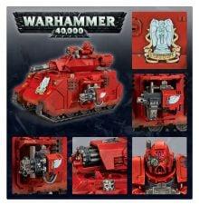 40K Baal Predator Upgrade Sprue Warhammer Blood Angels Space Marines Astartes BA