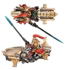 Warhammer 40k//30k Praetor A Jetbike Adeptus Custodes Vertus Praetors
