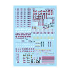 Adeptus Mechanicus Metalica Transfer Sheet