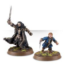 Thorin Oakenshield, King Under the Mountain and Bilbo Baggins, Master Burglar