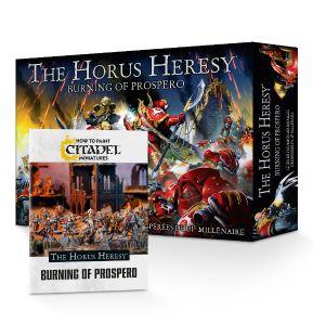 The Horus Heresy: Burning of Prospero et Guide de Peinture