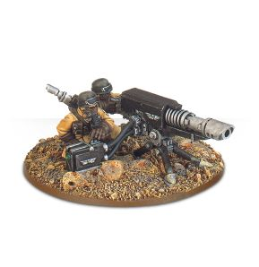 Steel Legion Lascannon
