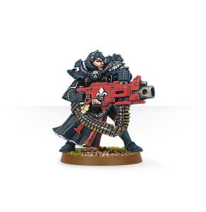 Battle Sister with Heavy Bolter
