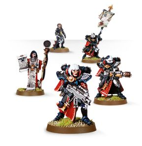 Sororitas Command Squad