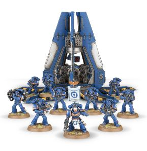 Space Marines Skyhammer Tactical Squad