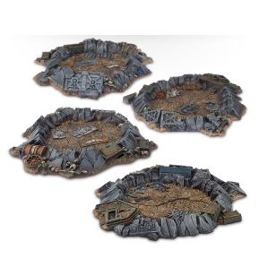 Quake Cannon Craters