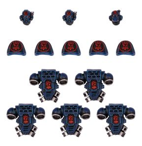 Crimson Fists Tactical Squad Upgrade Pack