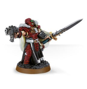 Inquisitor with Power Sword and Bolt Pistol