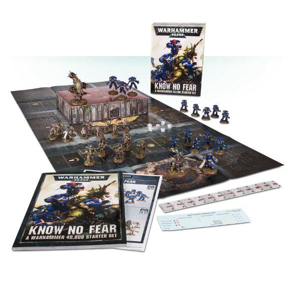 Know No Fear: A Warhammer 40.000 Starter Set