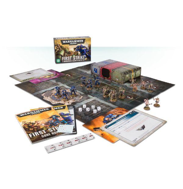 Erster Schlag: Ein Warhammer 40.000 Starter Set