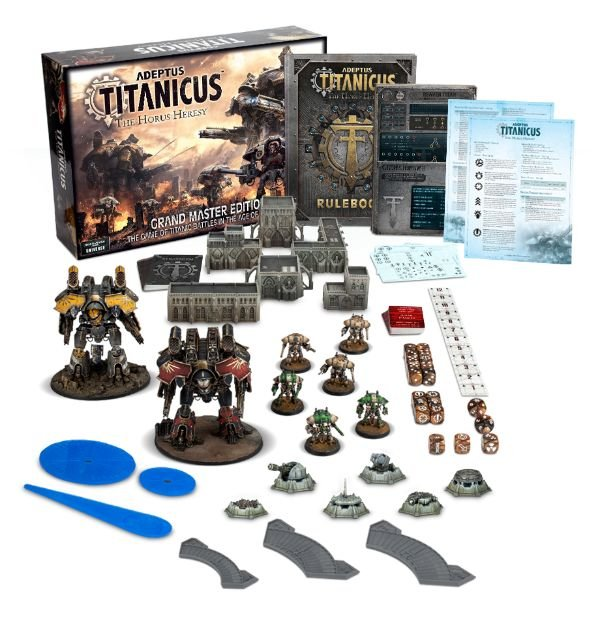 Adeptus Titanicus: The Horus Heresy Grand Master Edition