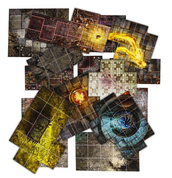 Die Tiles sind weniger bunt als bei Silver Tower {wo es ganz gut passte} {c] GW