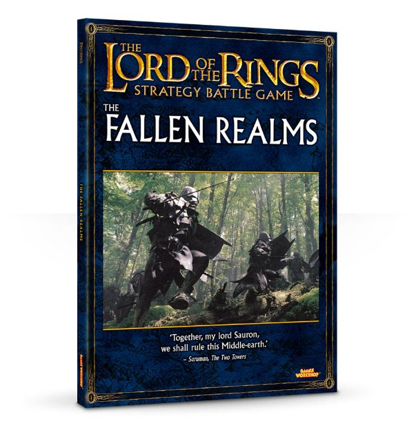 The Lord of the Rings: The Fallen Realms (Anglais)