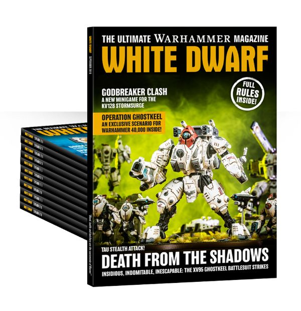 Suscripción promocional a la White Dwarf (12 meses) (Inglés)