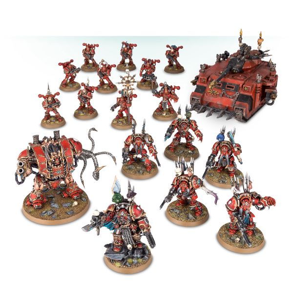 Ejército de Chaos Space Marines