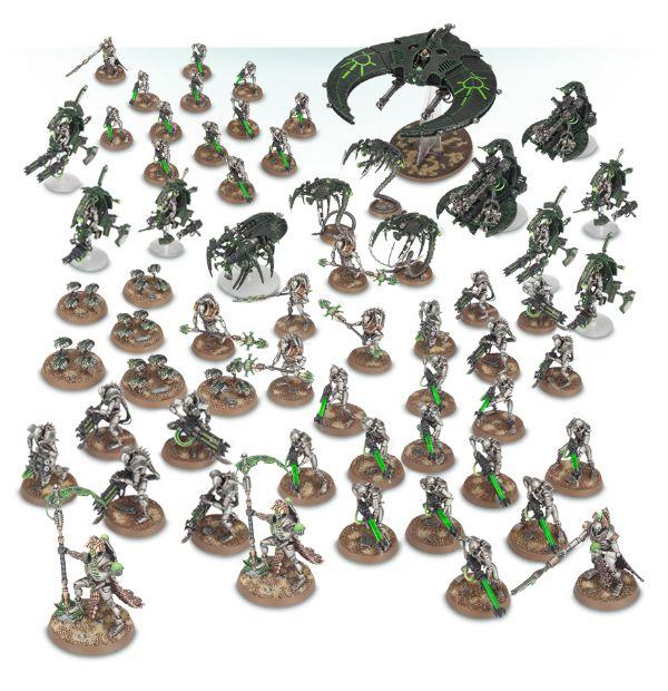 Destacamento de batallón: Necron Dynasty