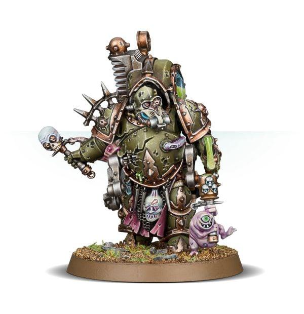Death Guard Typhus Herald of the Plague God// Herold des Seuchengottes Warhammer