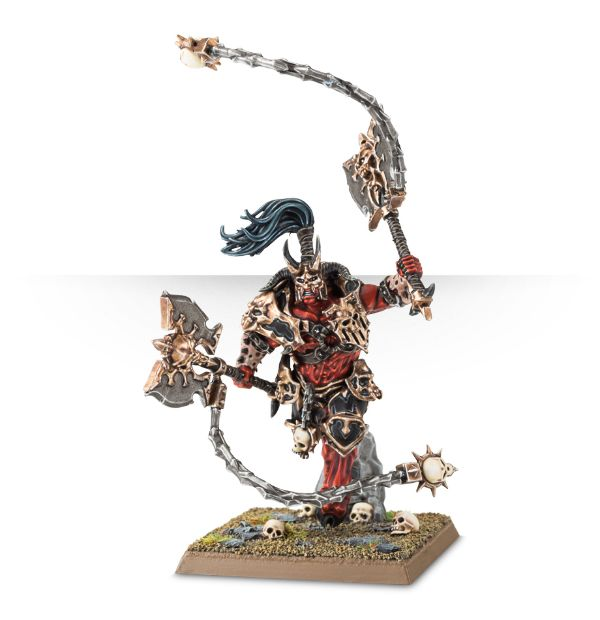 Skaar Bloodwrath games Workshop khorne warhammer battle miniature figurine