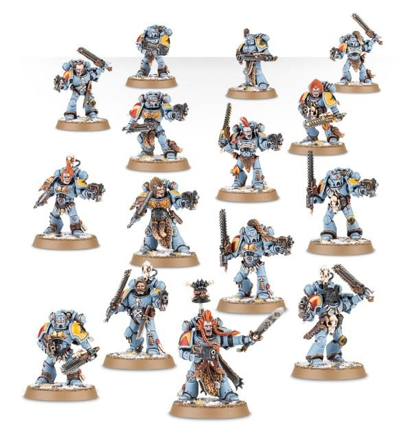 Space Wolves Blood Claws