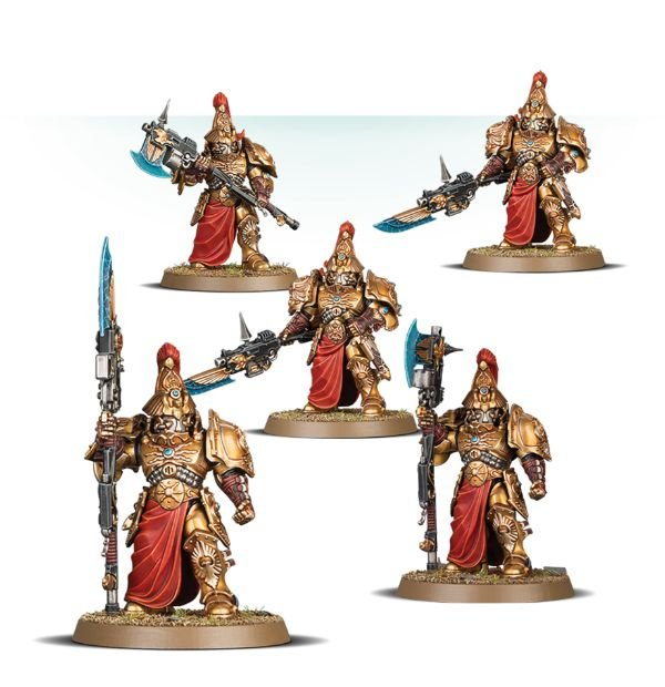 Warhammer Adeptus Custodes Custodian Guard Squad New