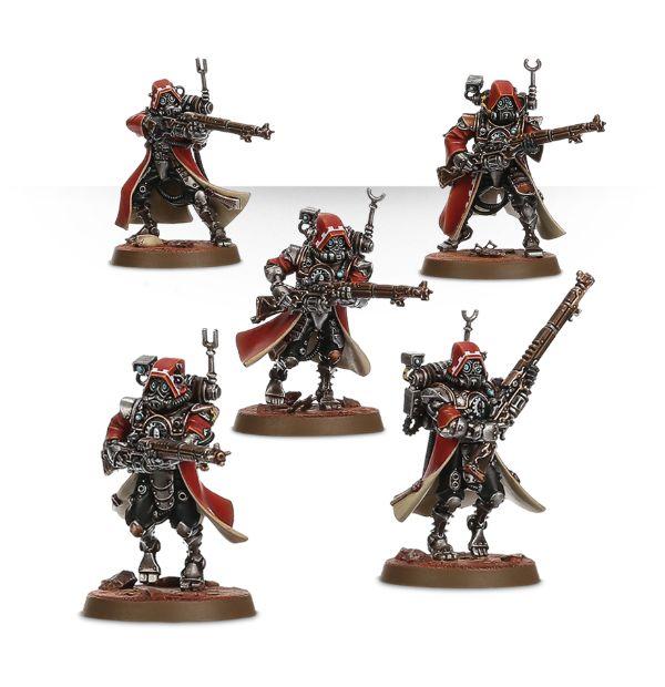 Adeptus Mechanicus Skitarii Rangers