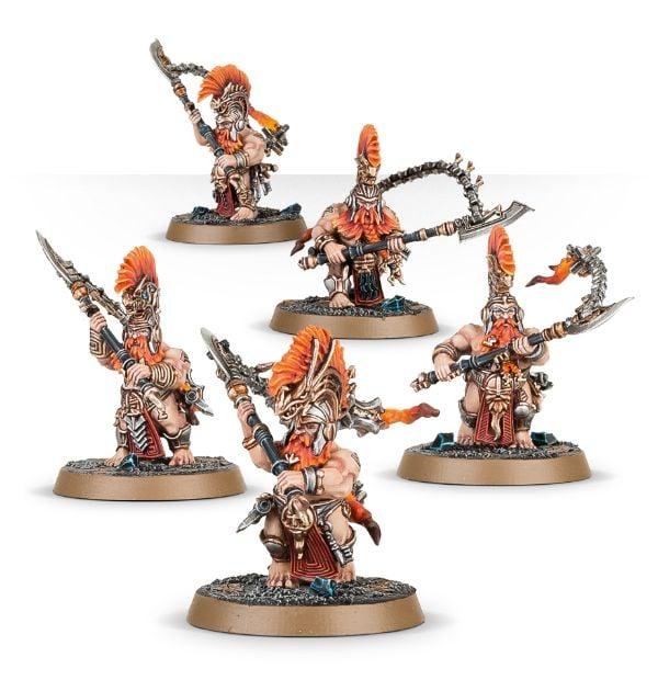 Tueurs de trolls nains warhammer age of sigmar auric fyreslayers Hearthgard berzerkers