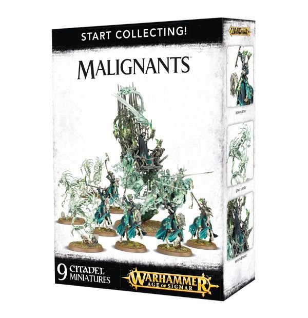 A picture of the Age of Sigmar Start Collecting box for Malignants