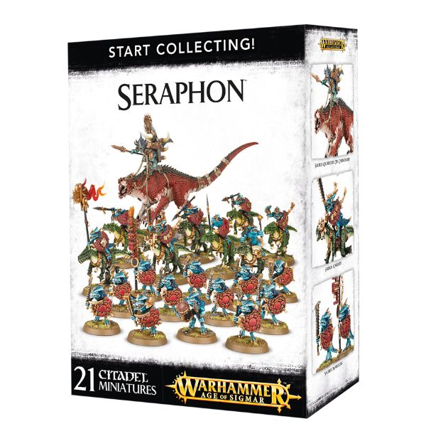 A picture of the Age of Sigmar Start Collecting box for Seraphon
