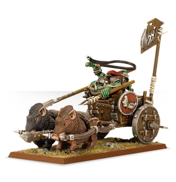Orruk Boar Chariot