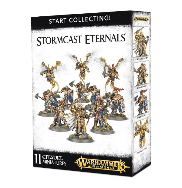 A picture of the Age of Sigmar Start Collecting box for Stormcast Eternals