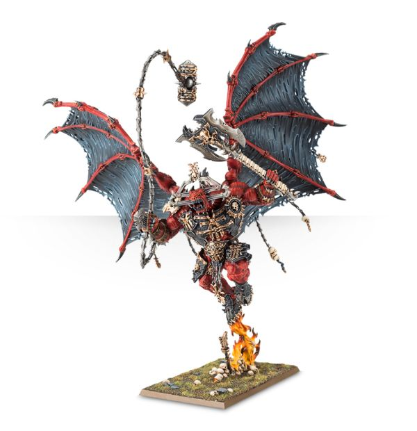 games Workshop deamon bloodthirster buver de sang warhammer