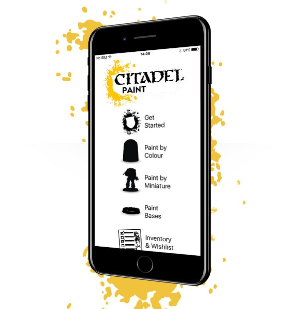Citadel Paint: The App (iOS)