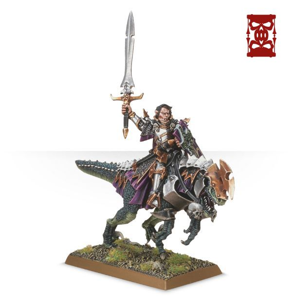 Warhammer : Age of Sigmar  99800212002_DreadlordColdOneNEW01
