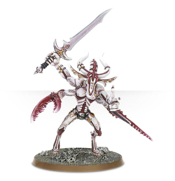 Image used for inspiration for a Herald of Slaanesh conversion