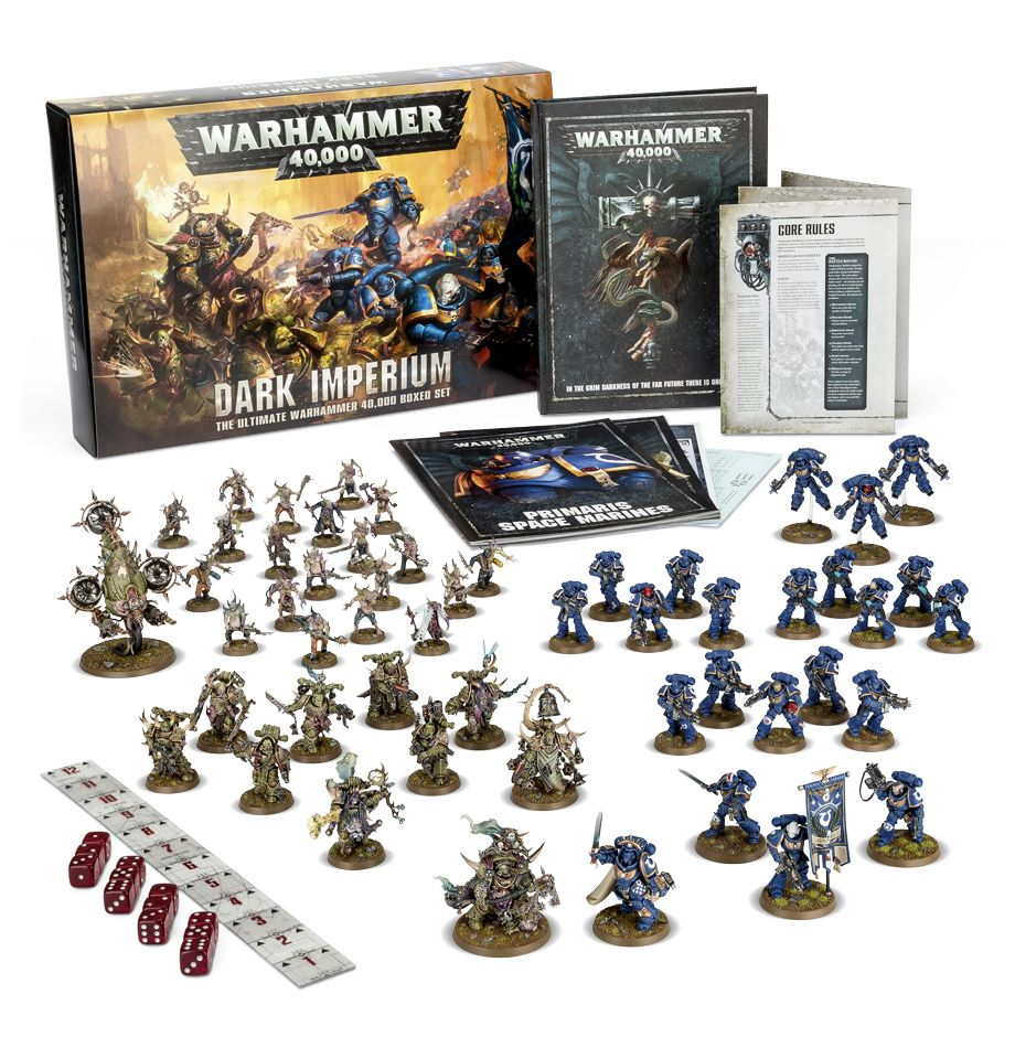 Updated 8th edition dark vengeance unit rules spotted spikey bits.