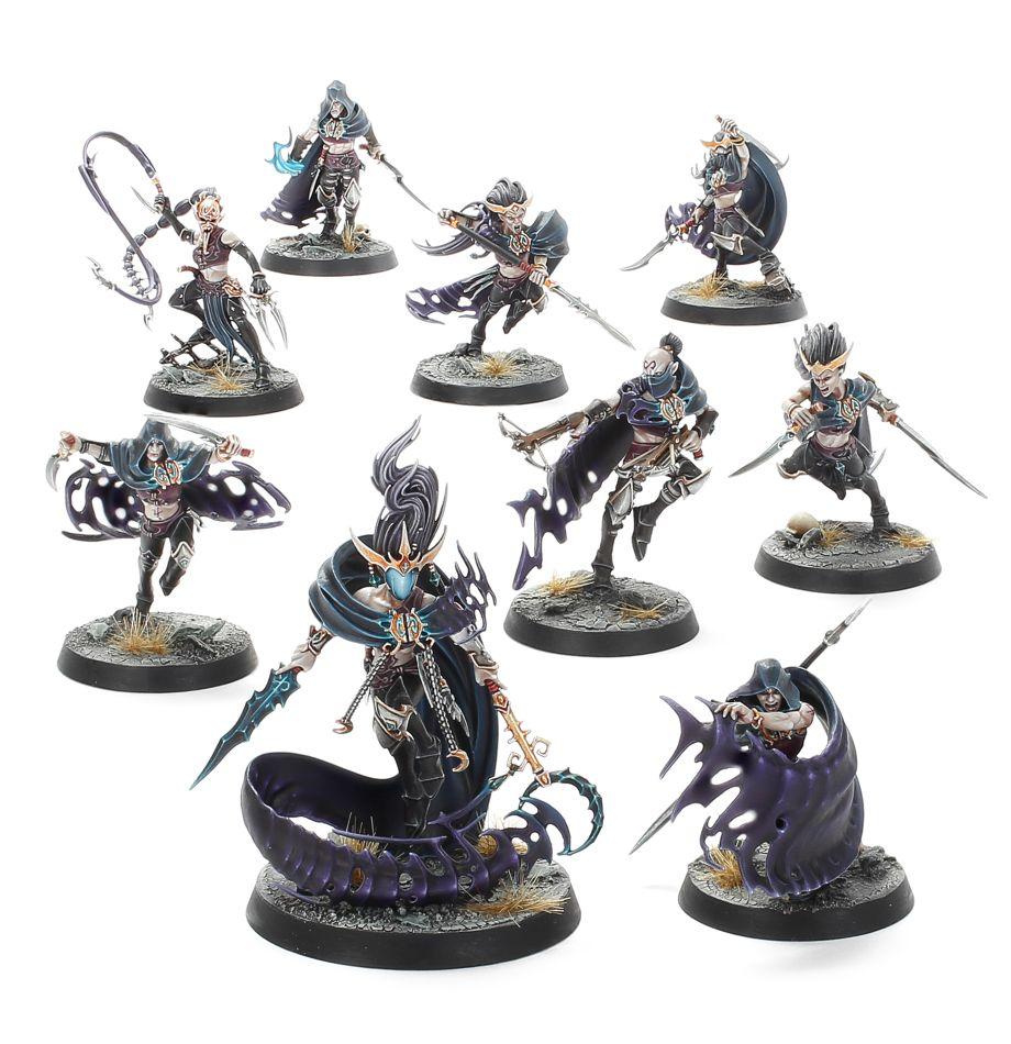 Shroudblade 3 Warhammer Khainite Shadowstalkers Warcry Catacombs