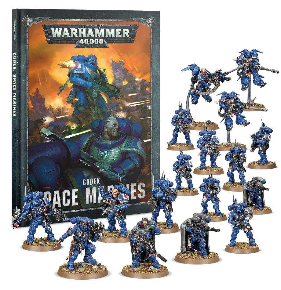 Space Marines Vanguard Games Workshop 5011921125289 Start Collecting