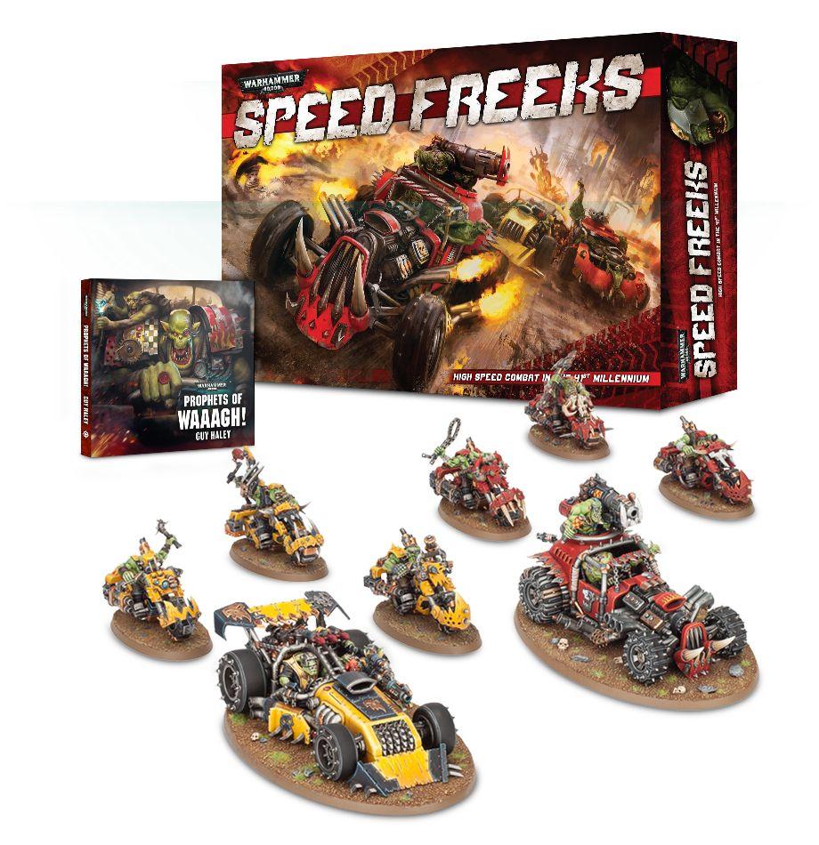 New Warhammer 40K Dark Imperium SPACE ORK BOYZ Squad