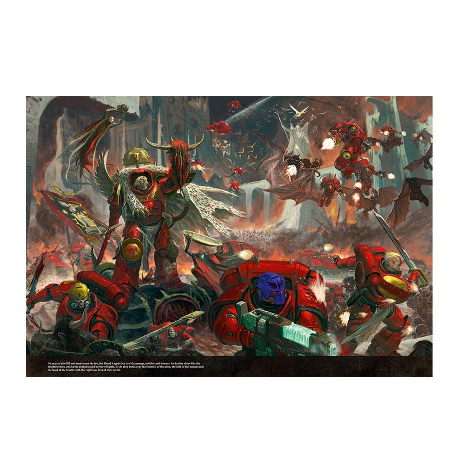 Blood Angels Games Workshop Warhammer 40,000 Codex