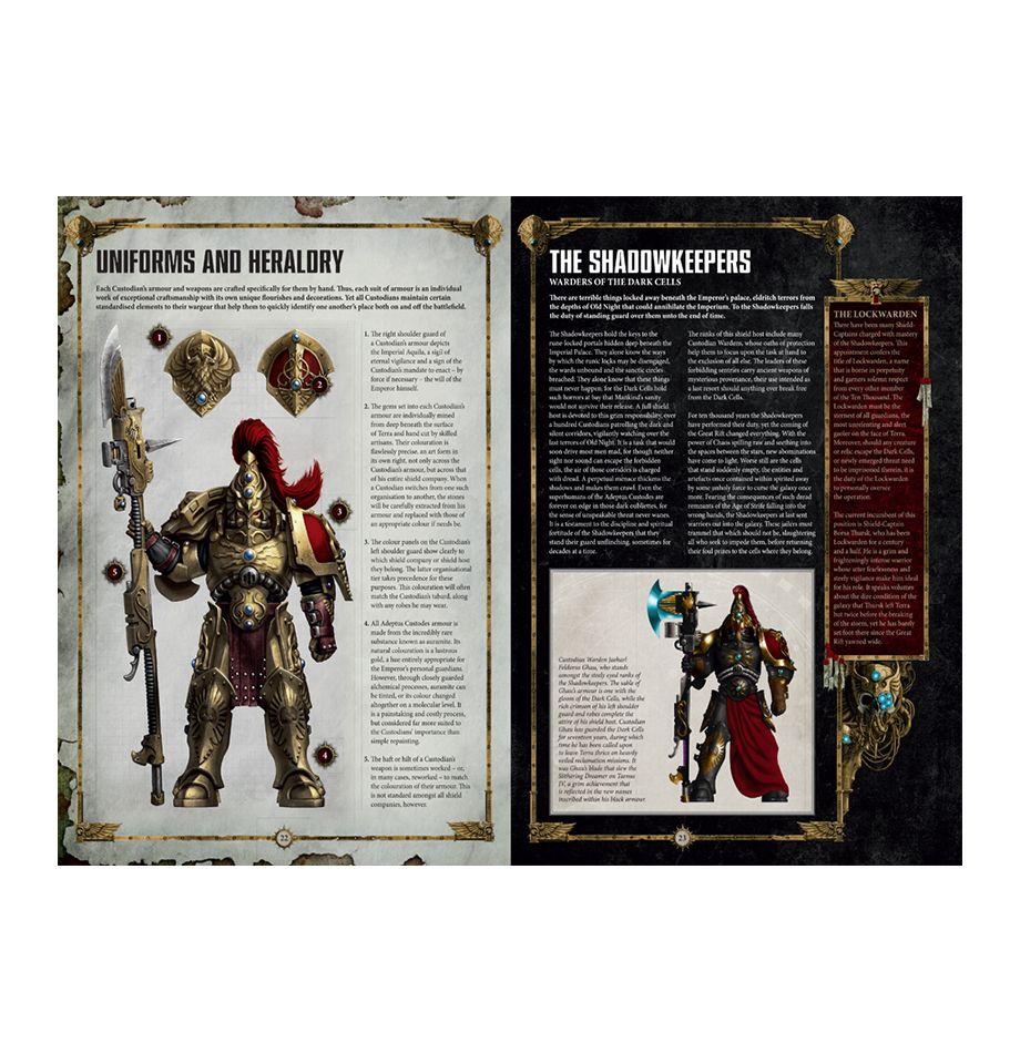 Codex: Adeptus Custodes | Games Workshop Webstore