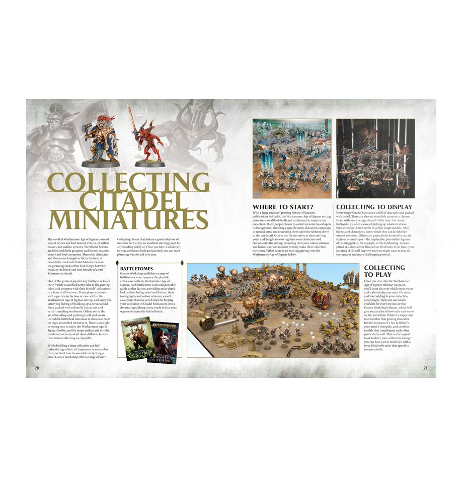 Getting Started With Warhammer Age of Sigmar | Games Workshop Webstore