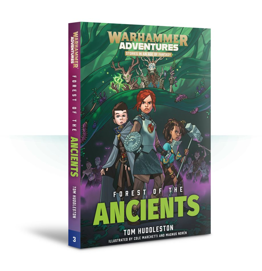 Warhammer Adventures: Forest of the Ancients (Paperback