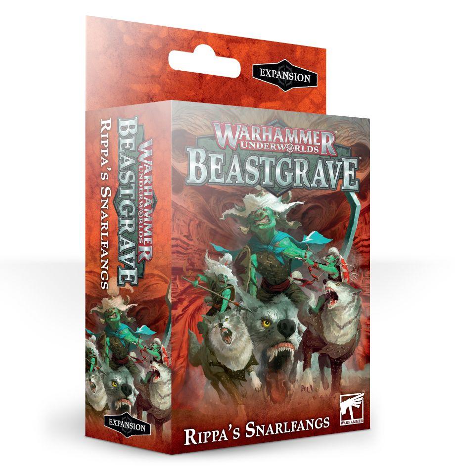 Warhammer Underworlds - Snarlfangs and Dreadfane