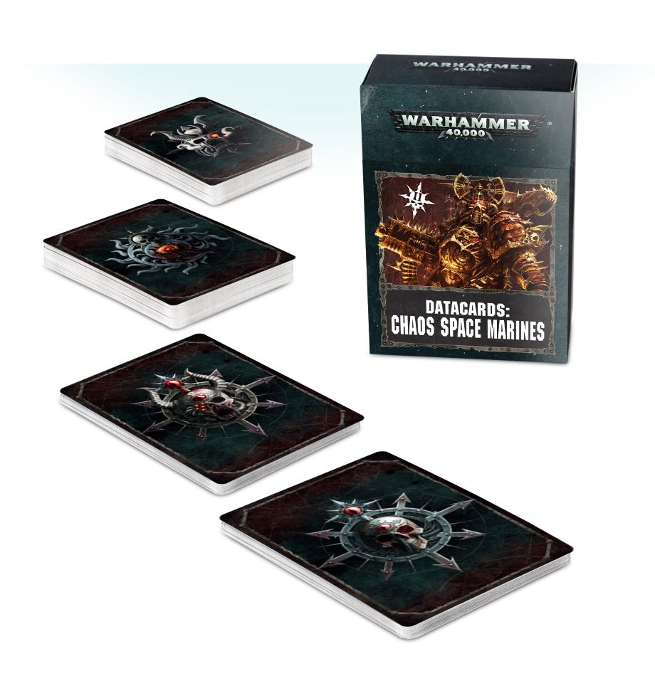DataCards Choas Space Marines