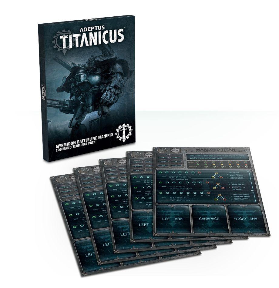 Adeptus Titanicus Myrmidon Battleline Maniple Command