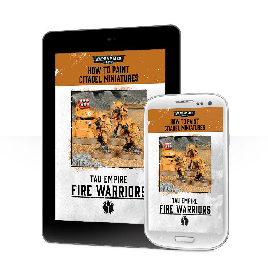 Fire Warrior Painting Guide (EBook) | Games Workshop Webstore