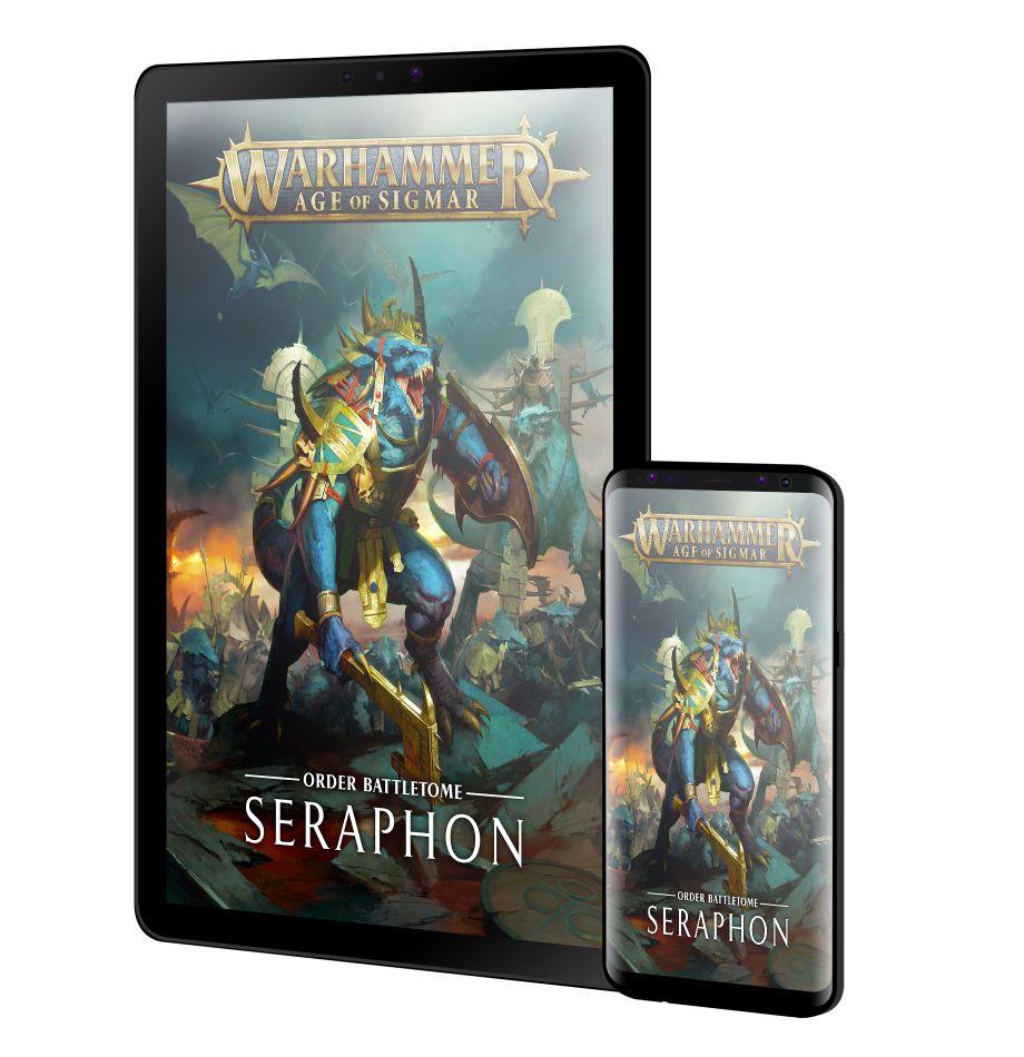 GAMES WORKSHOP-WARHAMMER-Age of Sigmar-battletome seraphon
