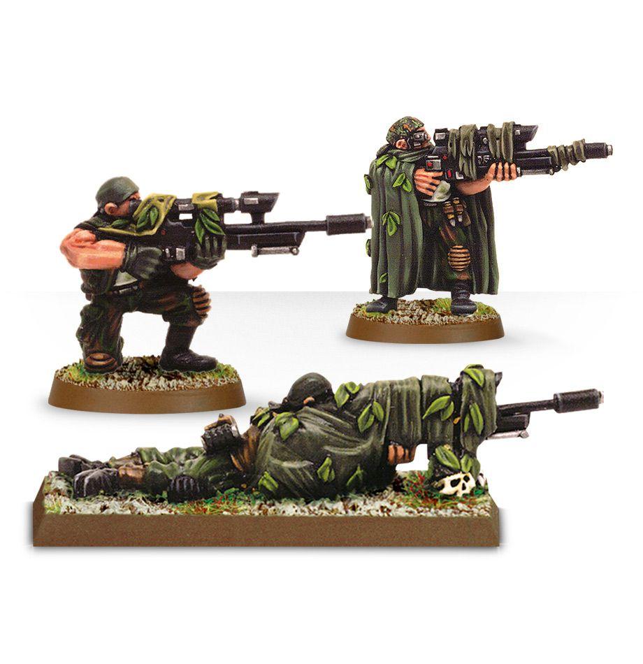 100 Photos of Catachan Snipers