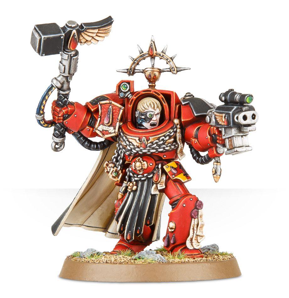 Warhammer 40K Blood Angels Captain in Terminator Armor Space Marines Marine